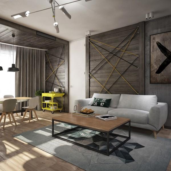 Appartements de studio pour de jeunes couples