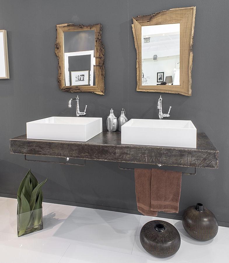 meuble salle de bain bleu provence