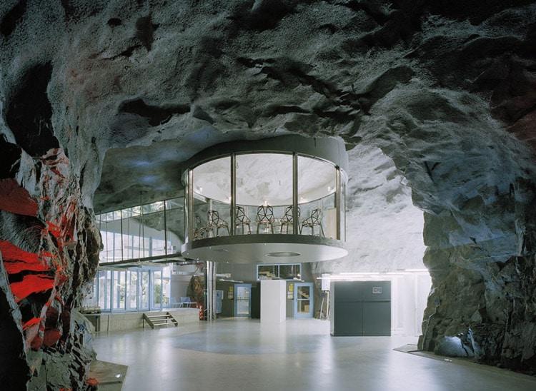Bureaux blancs de montagne de pionen stockholm sweden
