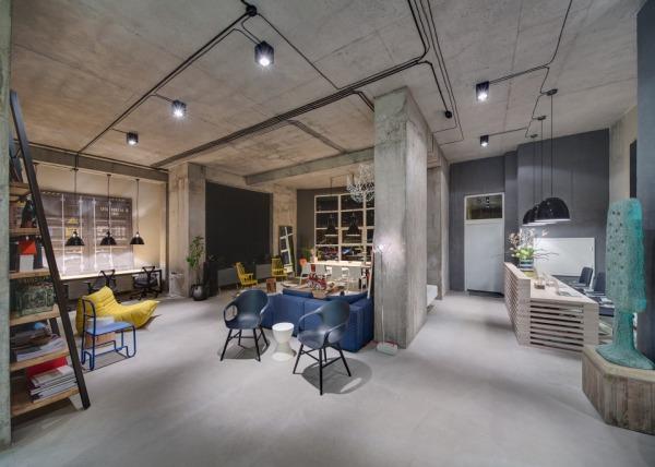 Ces bureaux modernes sont aussi élégants et habitables que nimporte