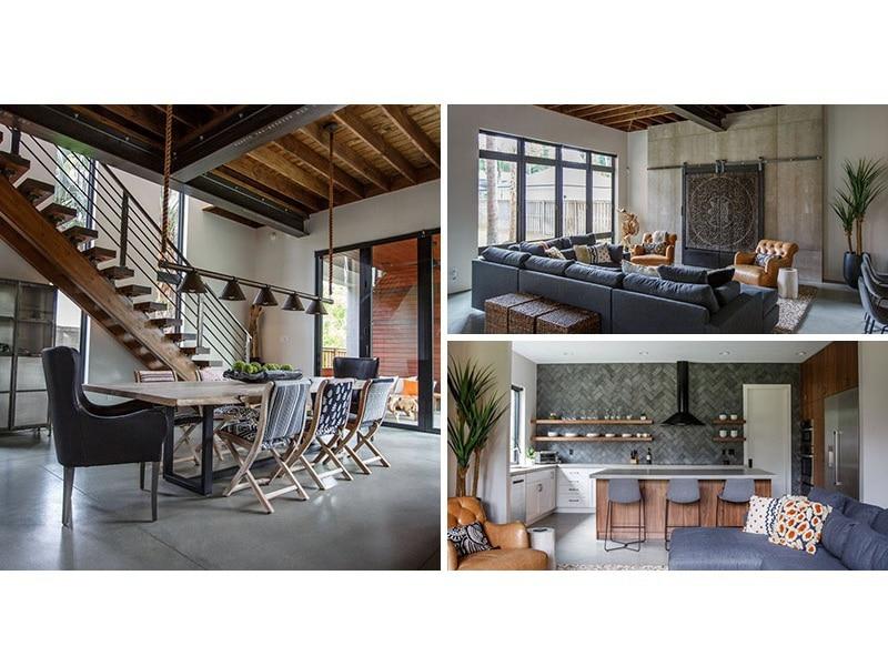Cette nouvelle maison en Floride a un intérieur contemporain avec ...