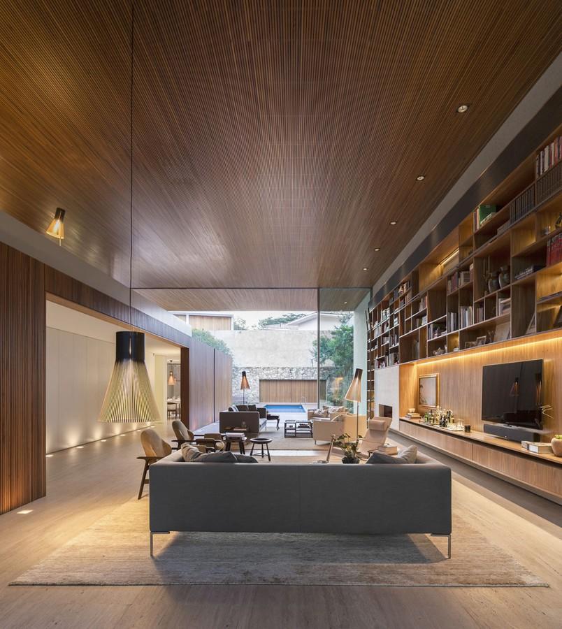 La chambre de tetris une maison brésilienne moderne créativement organisée