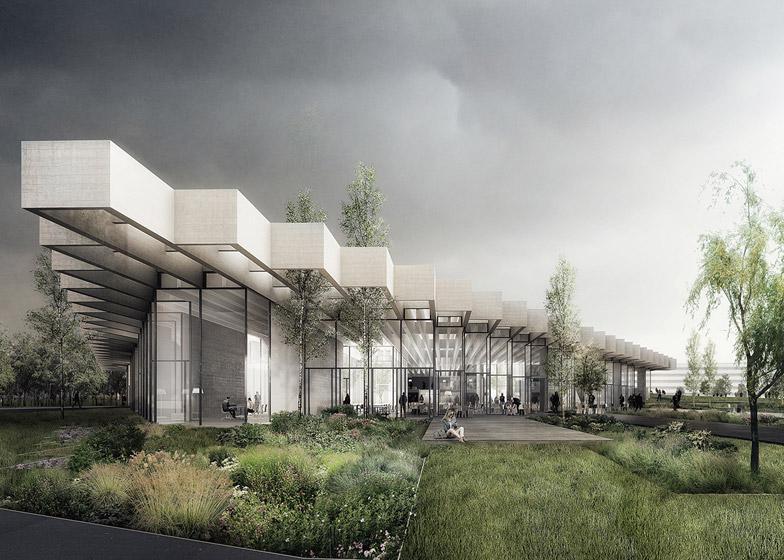 COBE conçoit le bâtiment de navire amiral pour des sièges sociaux d'Adidas