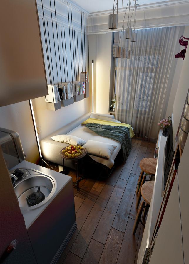 Concevoir Pour Super Petits Espaces 5 Micro Apartments