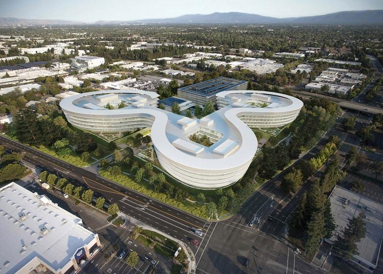 Le dernier campus de silicon valley dapple a pu être « bureau