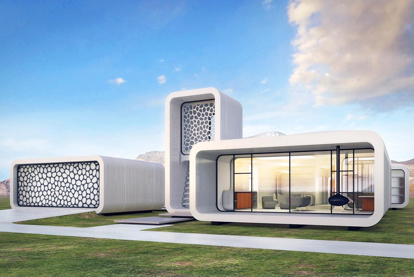 Dubaï pour imprimer le monde ? immeuble des bureaux 3d printed de s