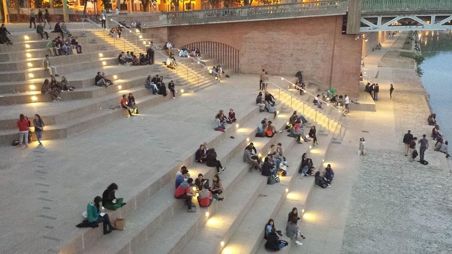 Souvent Illumination du nouveau Quai St Pierre - Toulouse - LumTeam VA78