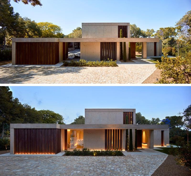 Maison Dans Le Pin Forest By Ramon Esteve