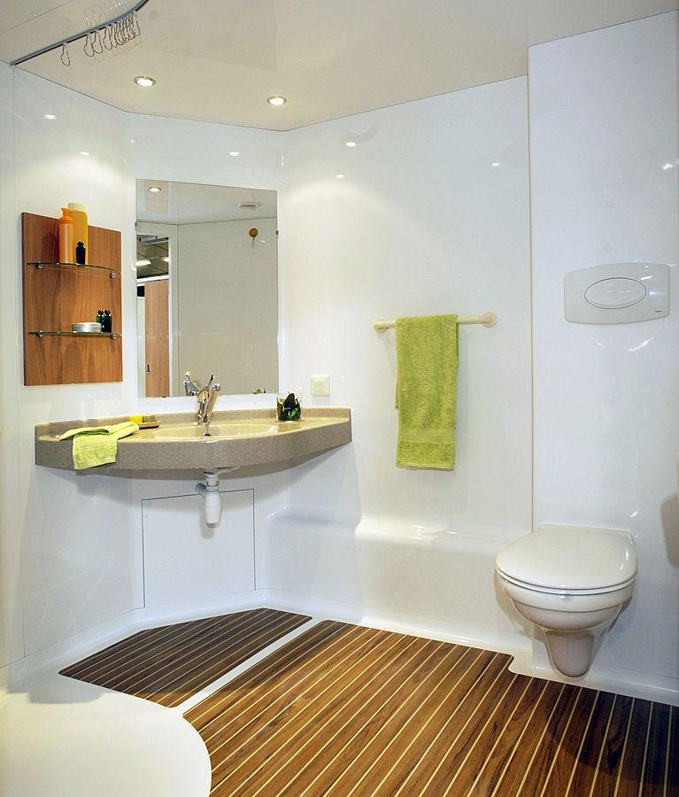 Salle De Bain Prefabriqué Professionnelle Pour Handicapé - Salle de bain handicape