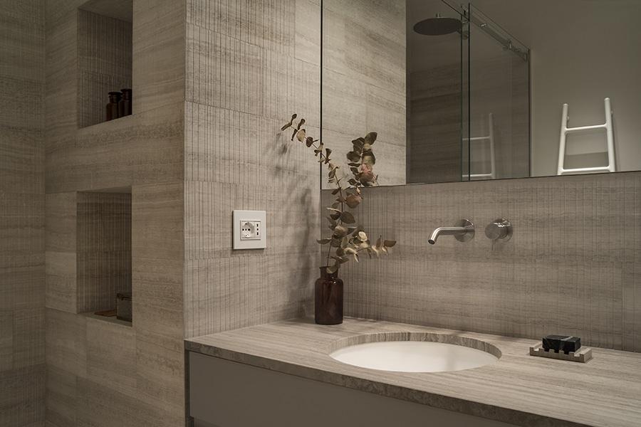 salle de bains dappartement priv