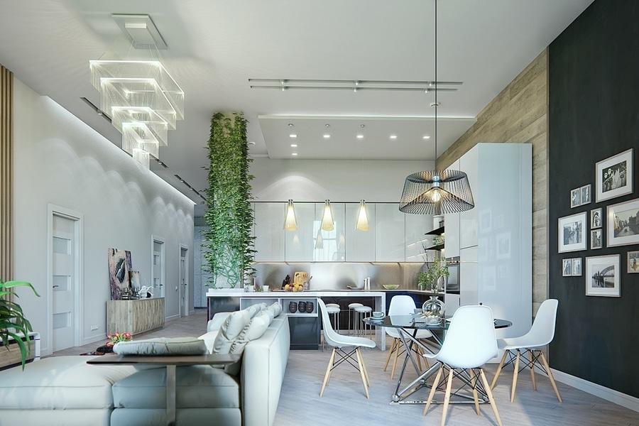 Salles à manger qui mélangent le décor classique et ultramoderne