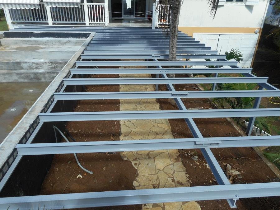 Structure Composite Pour Terrasse Guadeloupe Via Composites - Materiaux composite pour terrasse