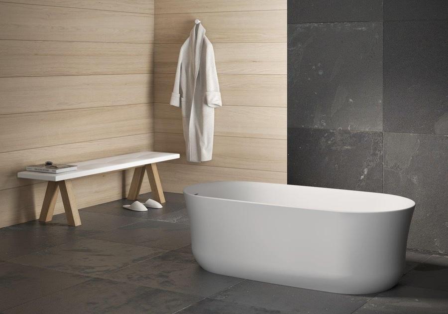 Vasca Da Bagno Krion : Vasca da bagno arch sottigliezza eleganza e praticità che al