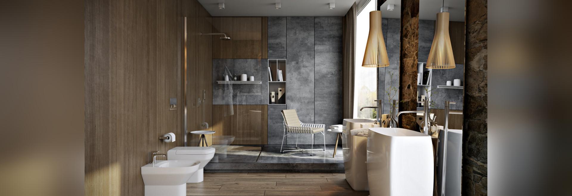 5 salles de bains de luxe dans le détail élevé - Ukraine