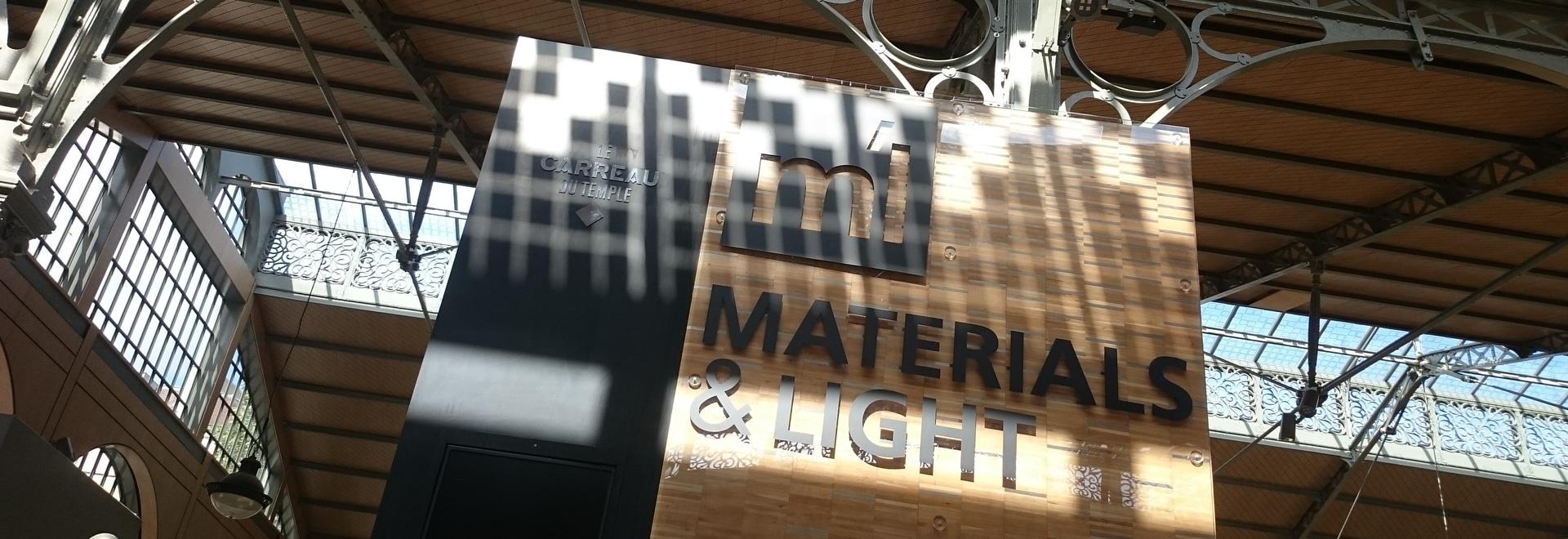 Aubrilam au salon Materials & Light