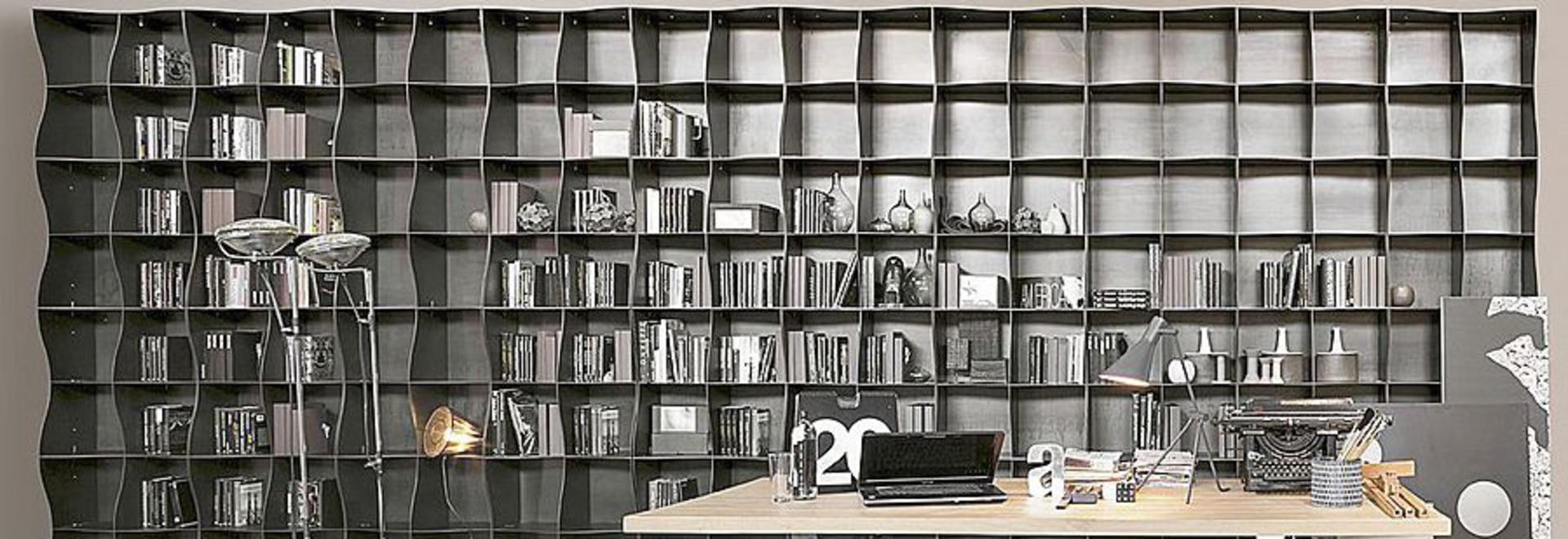 Biblioth Que Modulaire Ironique En M Tal Italy Ronda Design # Bibliotheque Modulaire
