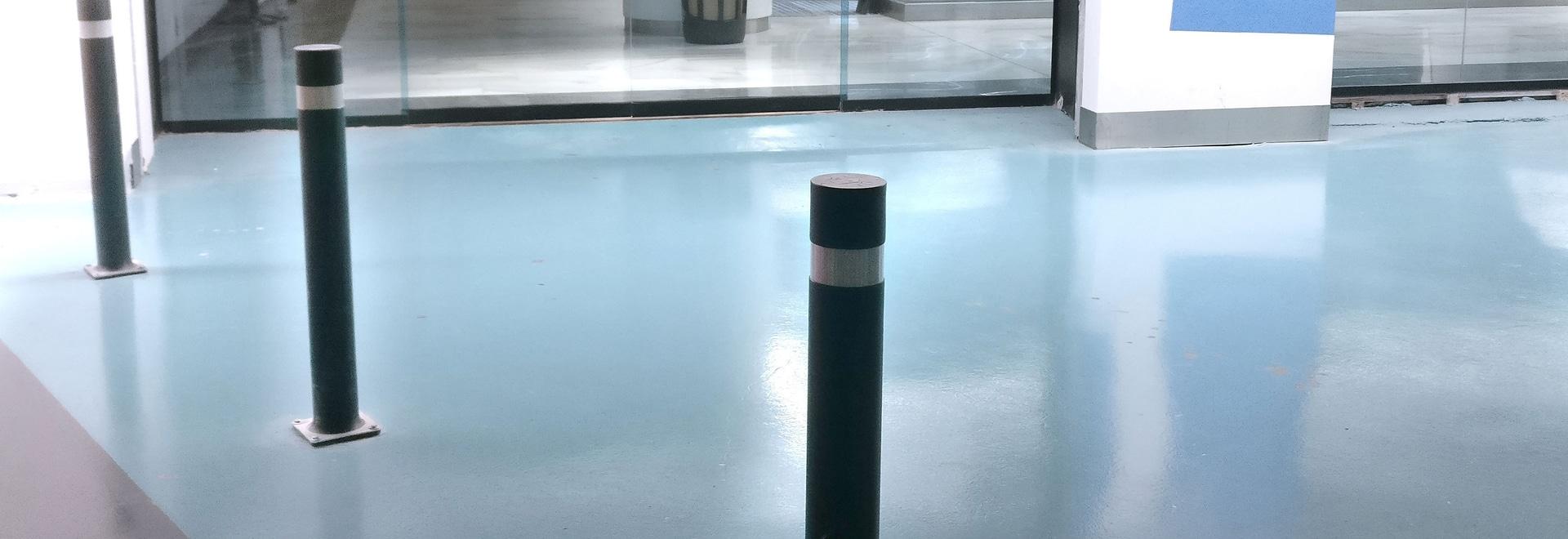 Bornes flexibles, idéaux pour des parkings