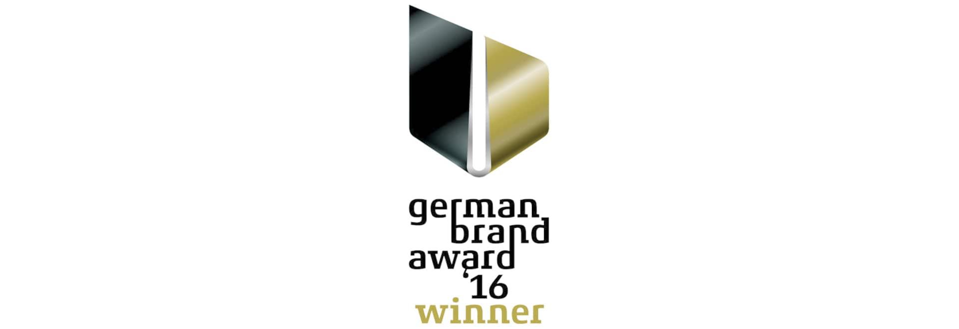 BRUNE gagne le German Brand Award 2016