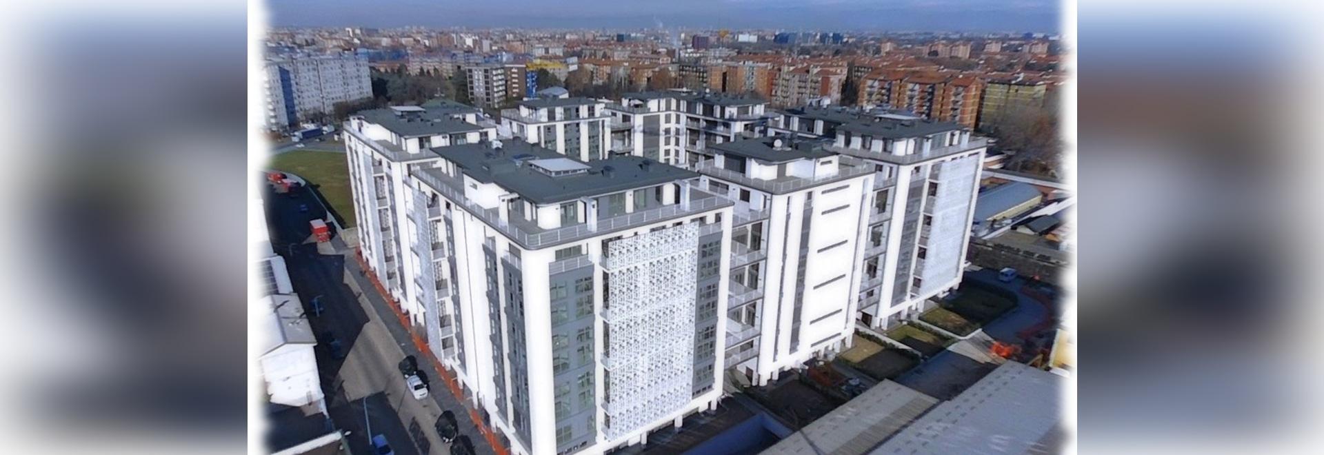 Complexe Q5 résidentiel dans l'aperçu de Milan