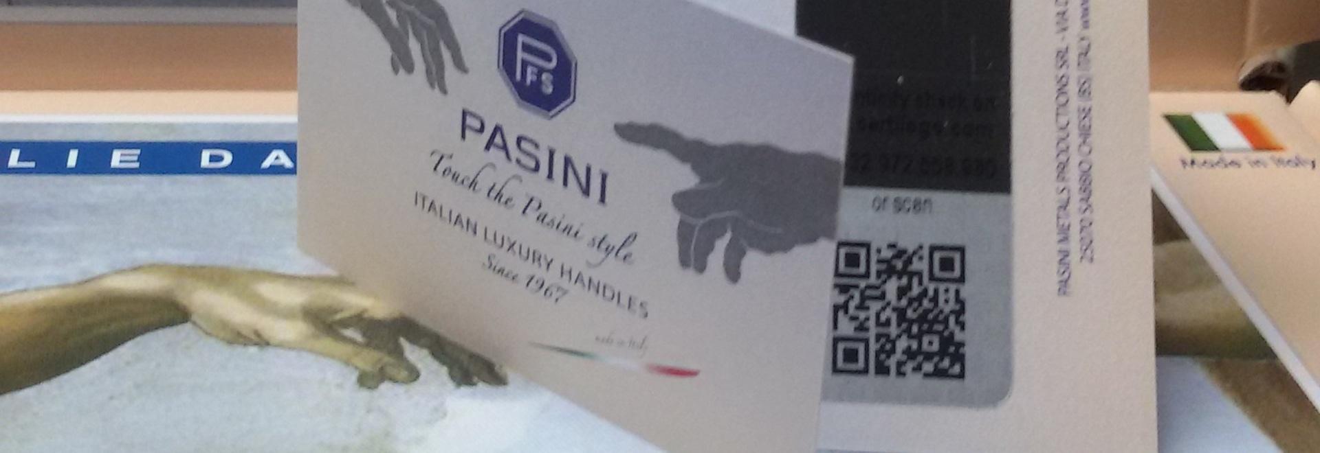Étiquette d'authenticité de PFS PASINI