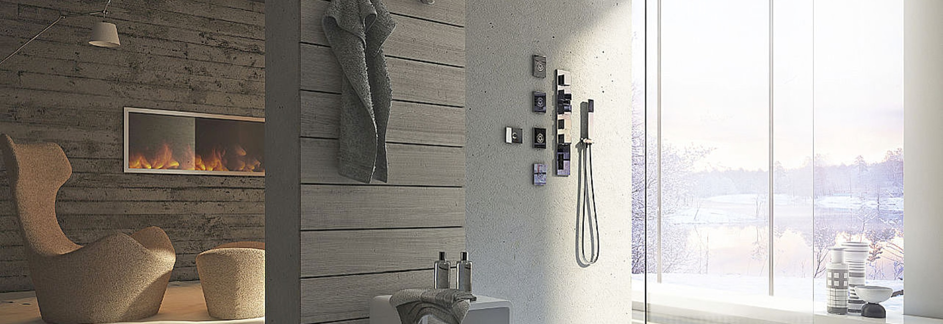 Une expérience sensorielle pour l'espace de douche, une nouvelle philosophie de Calflex pour la santé de votre corps et âme
