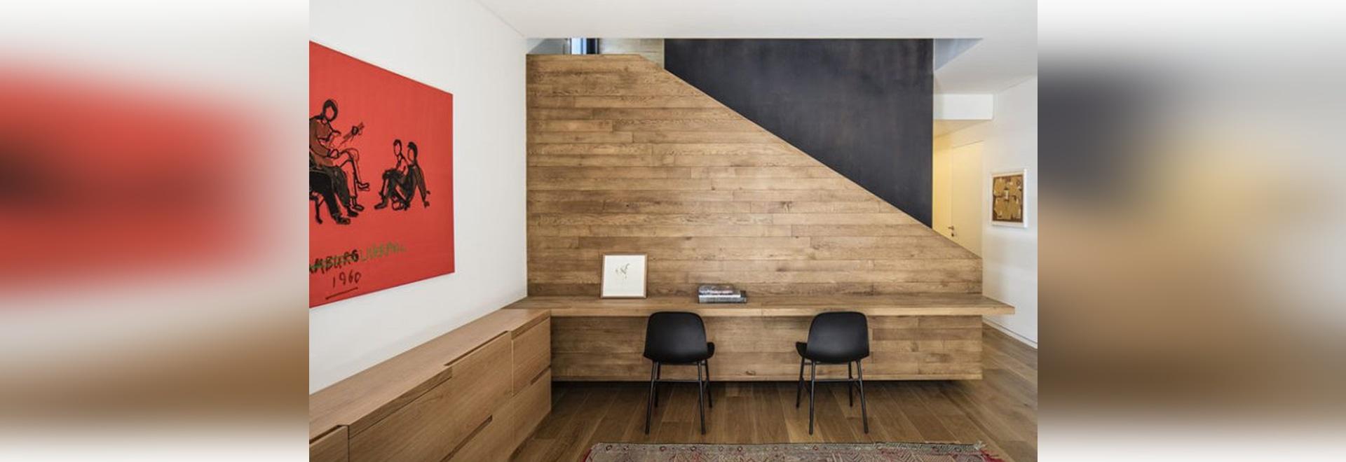 Des idées de conception intérieure – construisez un bureau sur un espace inutilisé de mur