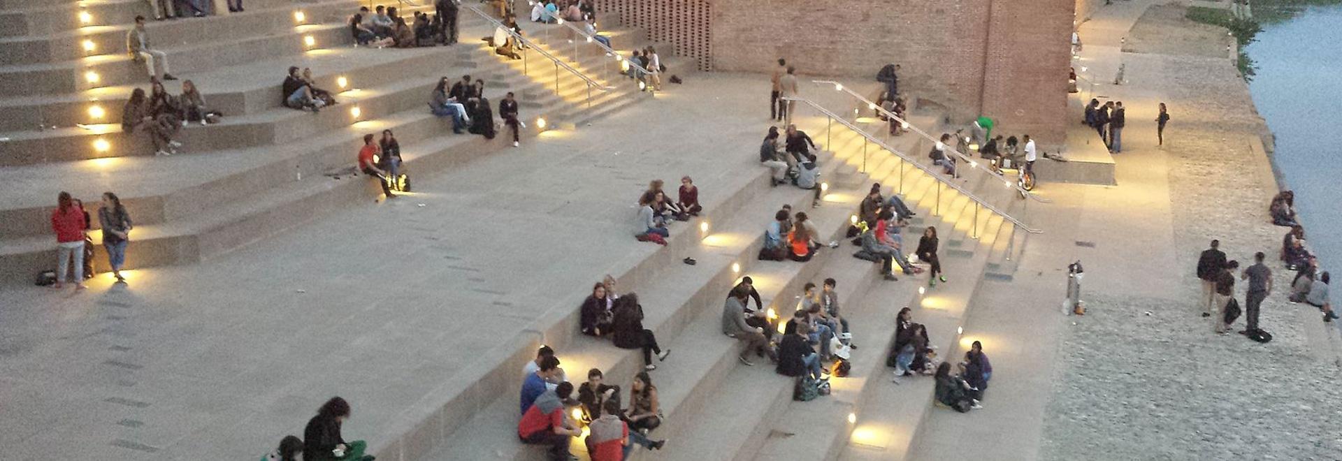 Top Illumination du nouveau Quai St Pierre - Toulouse - LumTeam SI18