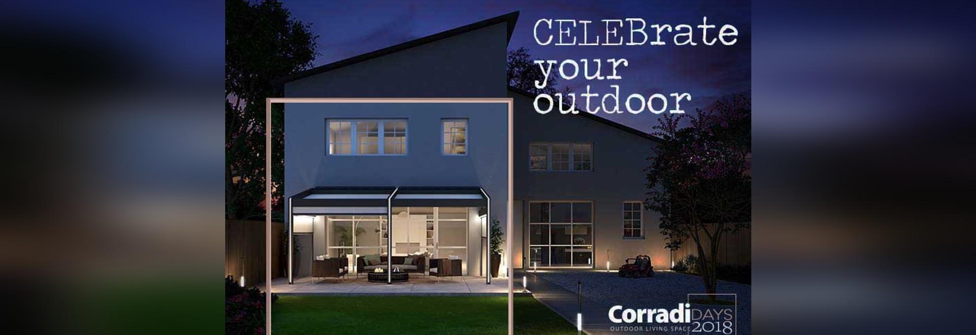 Jours de Corradi pour célébrer le quarantième anniversaire de Corradi, commençant le 26 mai