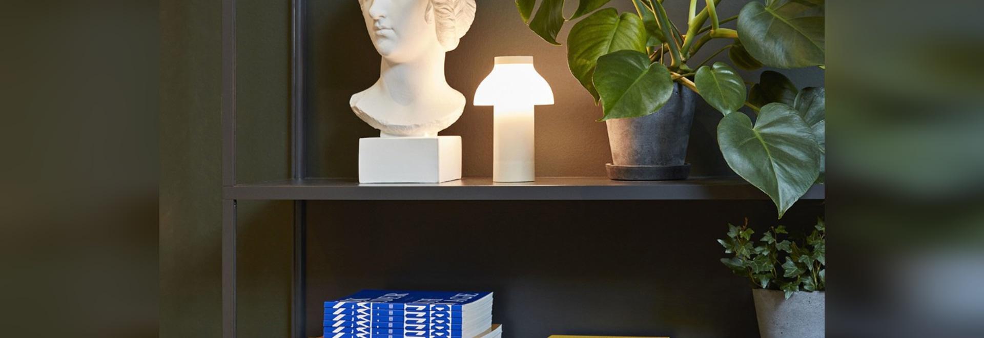 La lampe portative à être à l'aise n'importe où