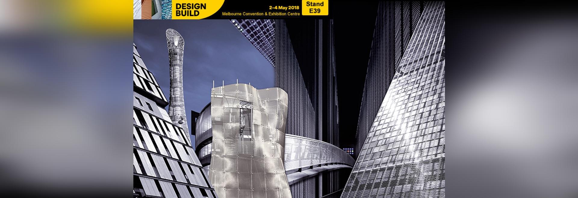 Maille architecturale de HAVER chez DesignBuild 2018