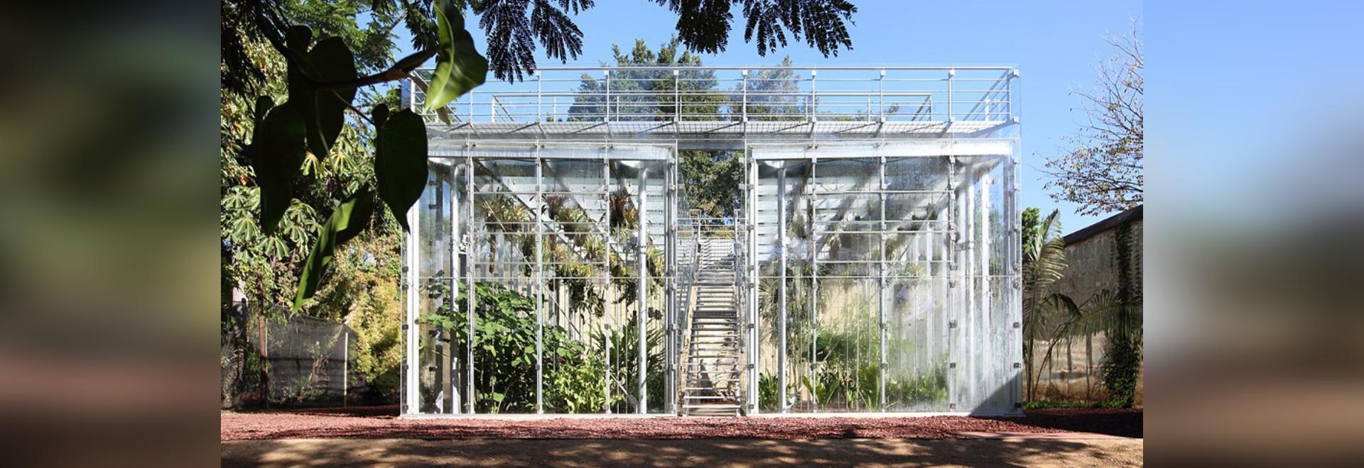 La maison zéro d'orchidée d'énergie est conçue pour instruire au sujet de la biodiversité d'Oaxaca