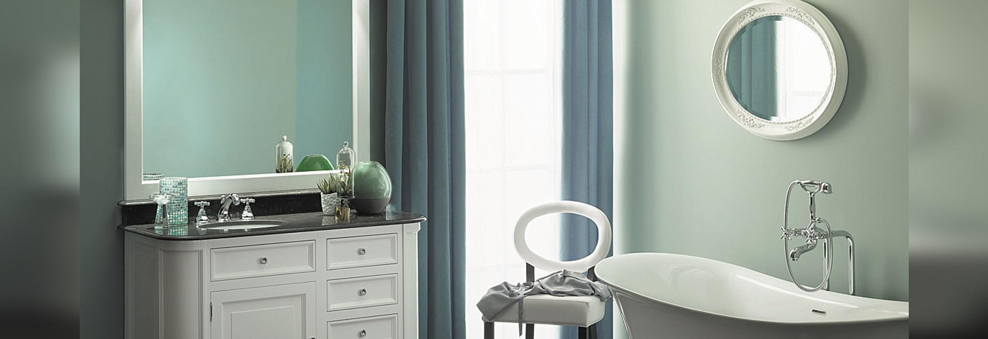 Meuble de salle de bains rétro elysée   aqua prestige