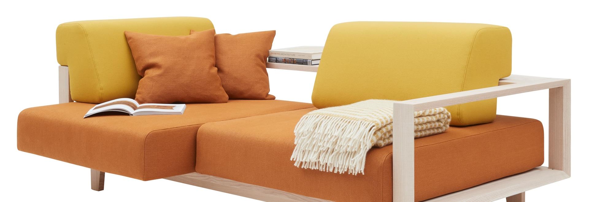 Le nouveau canapé WOOD