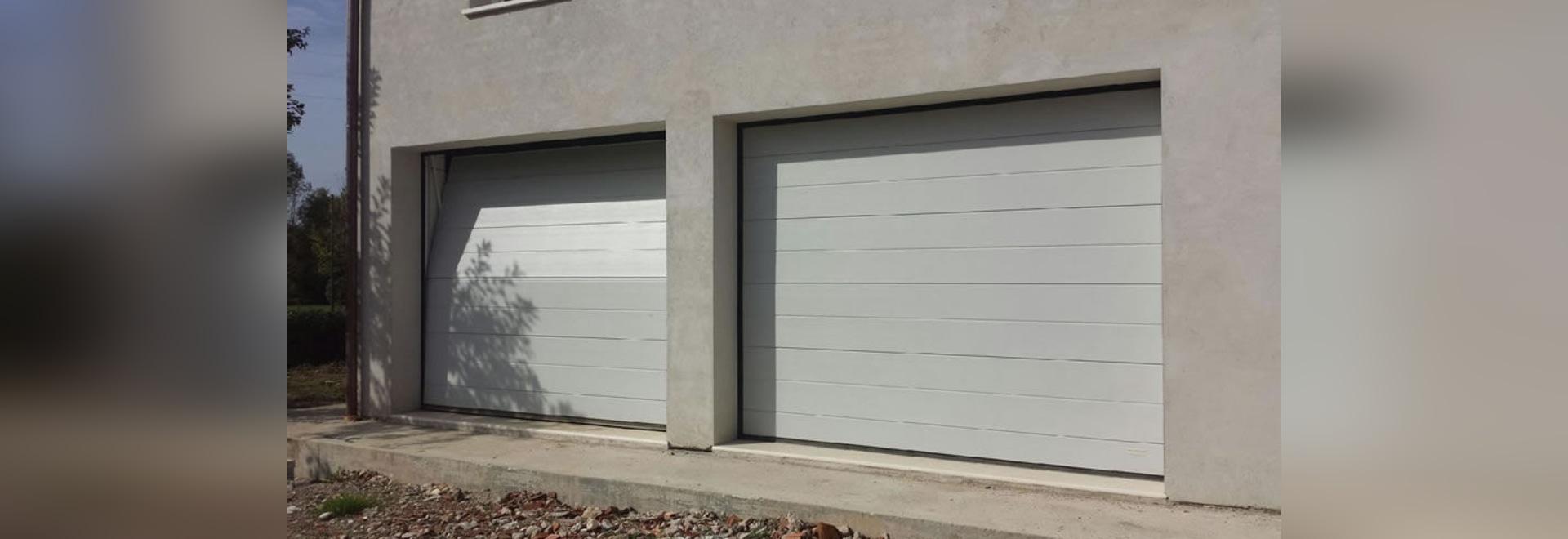 porte de garage overlap