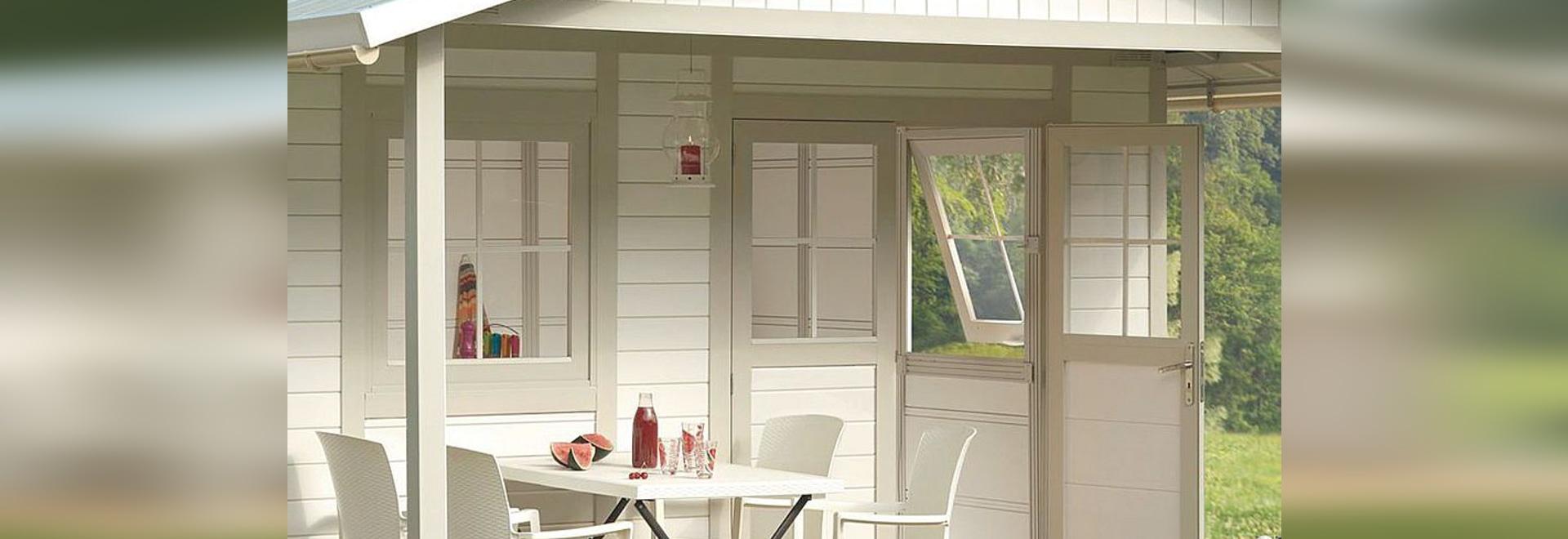 Nouveauté : abri de jardin en bois par grosfillex   grosfillex ...
