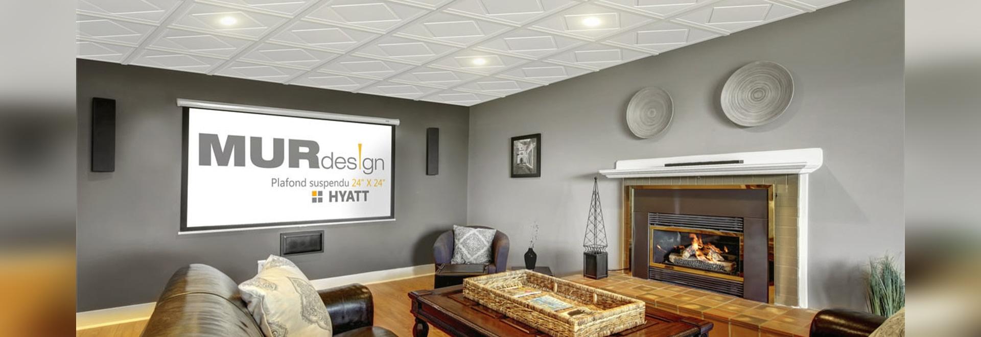 NOUVEAUTÉ : Faux Plafond Décoratif By MUR Design