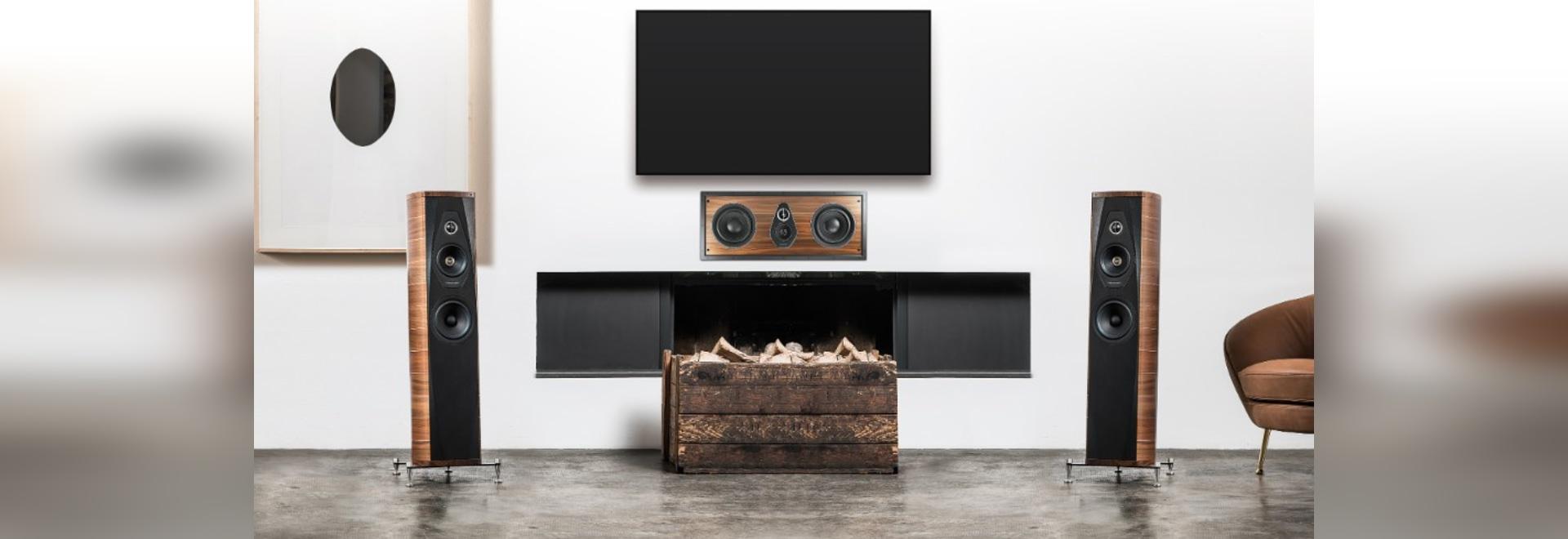 Les orateurs inspirés par Andrea Palladio : audio parfait et installation invisible