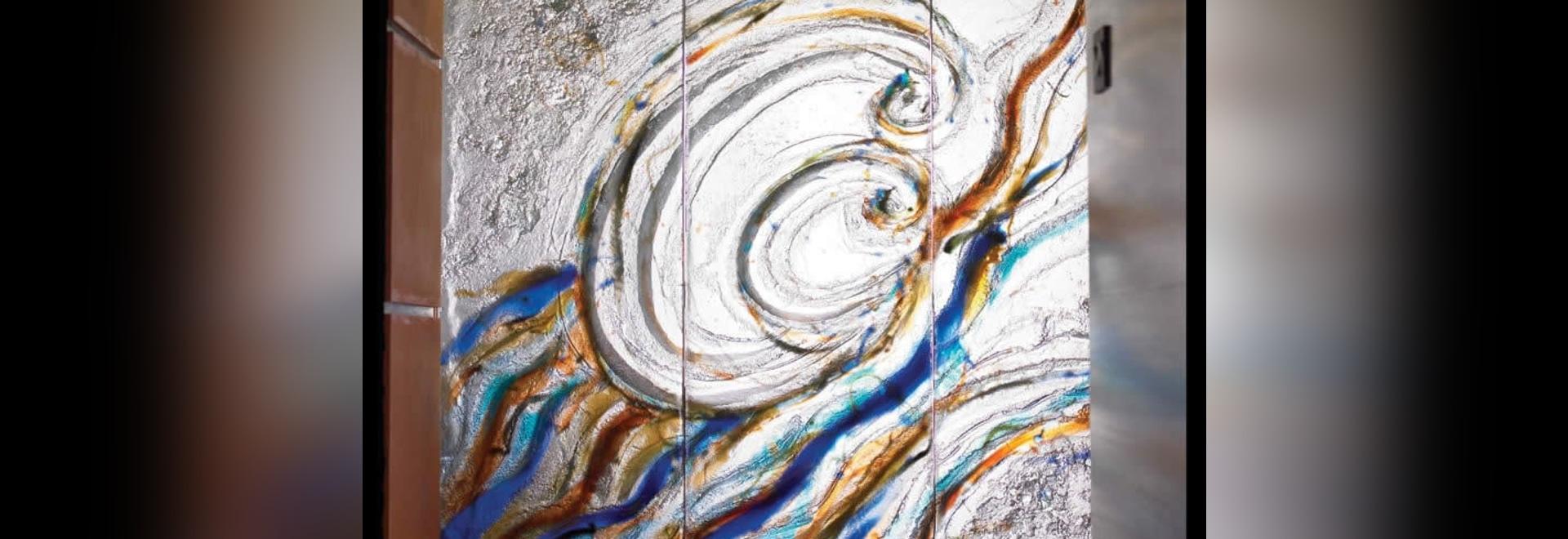 Panneau de verre artistique ThinkGlass