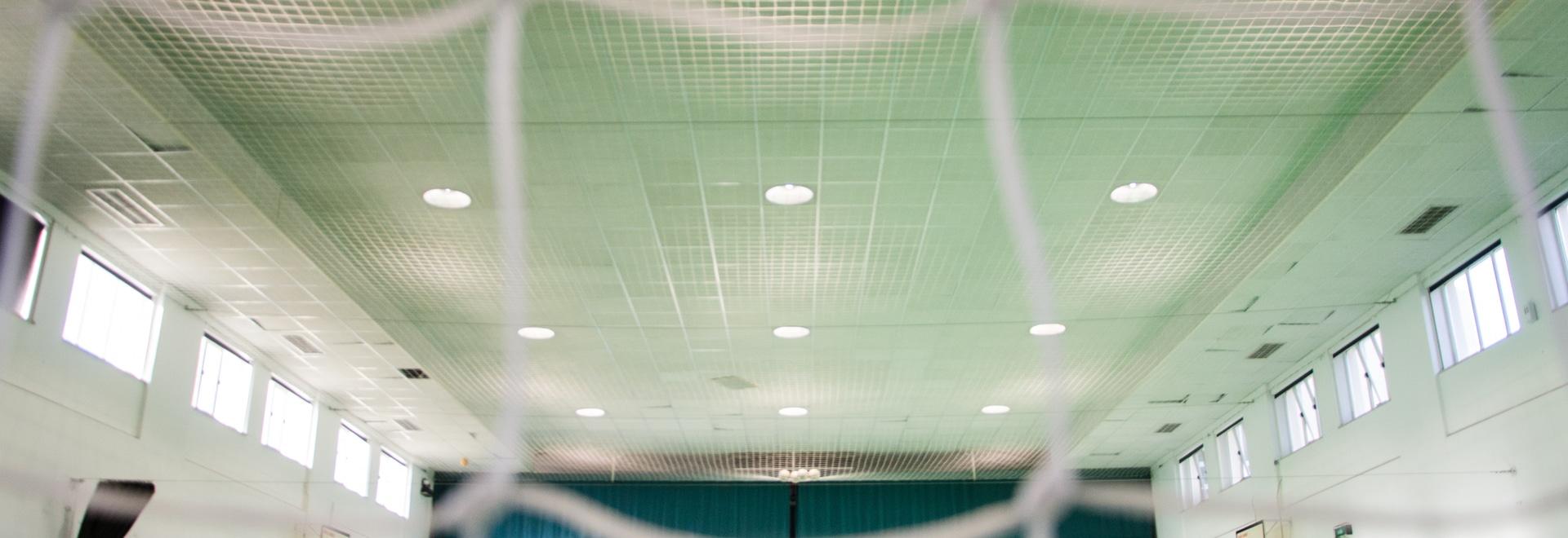 Pavillon de sports avec Aquilas de Brilumen
