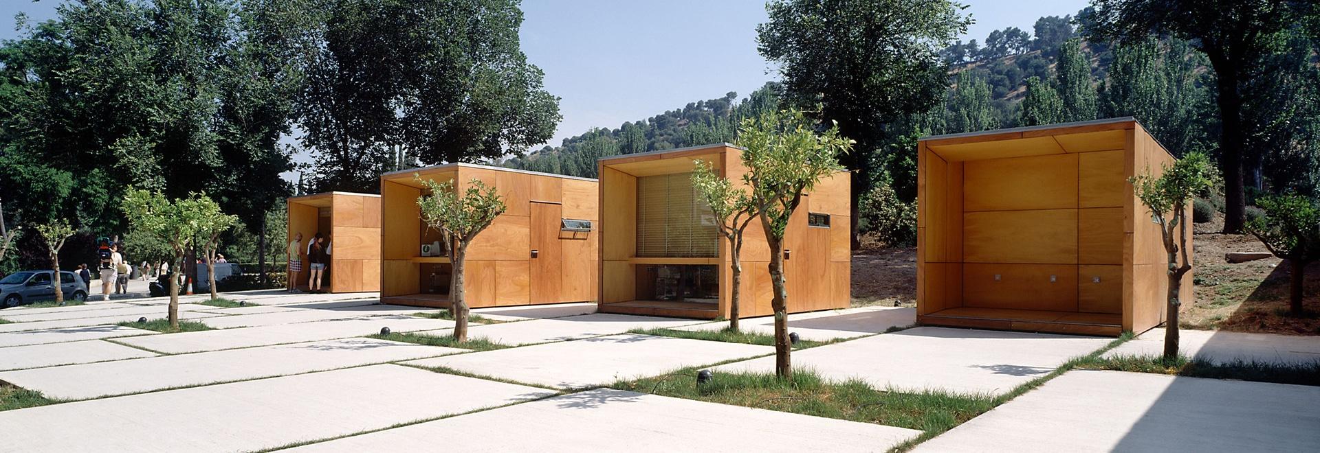 Points d'information à l'Alhambra
