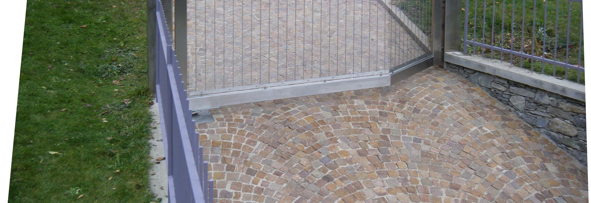 Porte à la maison privée, Milan