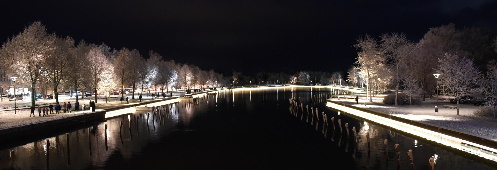 projet de liniLED® | Uusikaupunki, Finlande