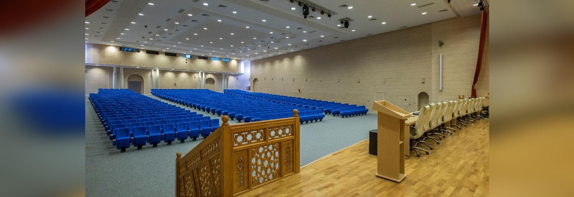 Quinette Gallay équipe la salle de conférences du ministère des Habous et affaires islamiques