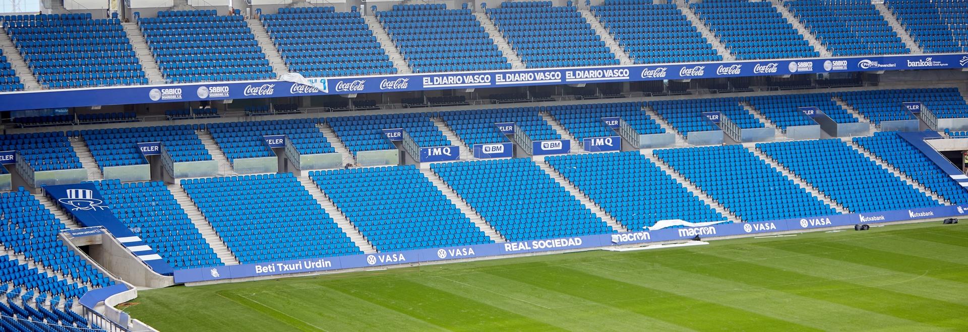 La réforme du stade d'Anoeta – Real Sociedad C.F.