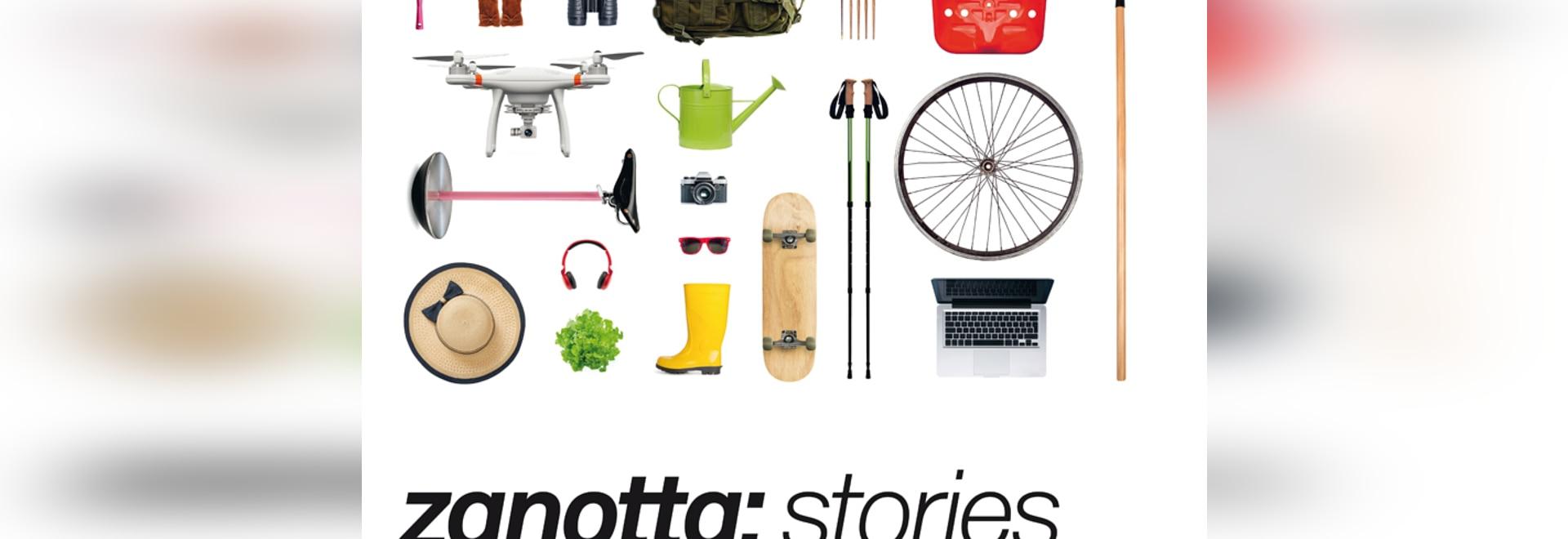 Tecno présente des histoires de Zanotta