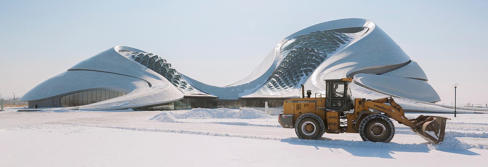 théatre de l'opéra de Harbin des architectes FOUS de photographies de gallardo d'andrés dans la ville de la glace de la porcelaine