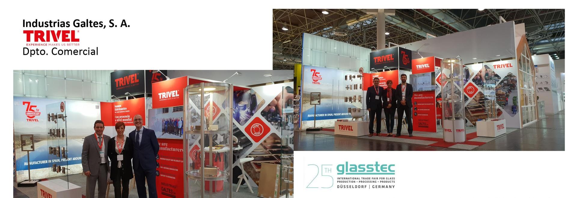 Trivel dans Glasstec et Veteco 2018