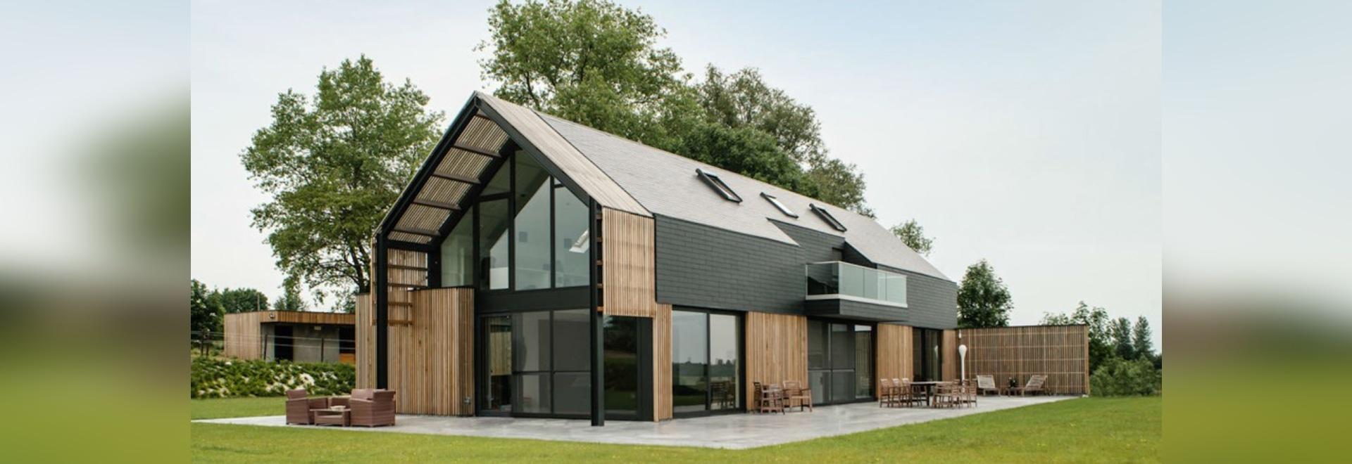Stunning Maison Moderne Belgique Contemporary - Design Trends 2017 ...