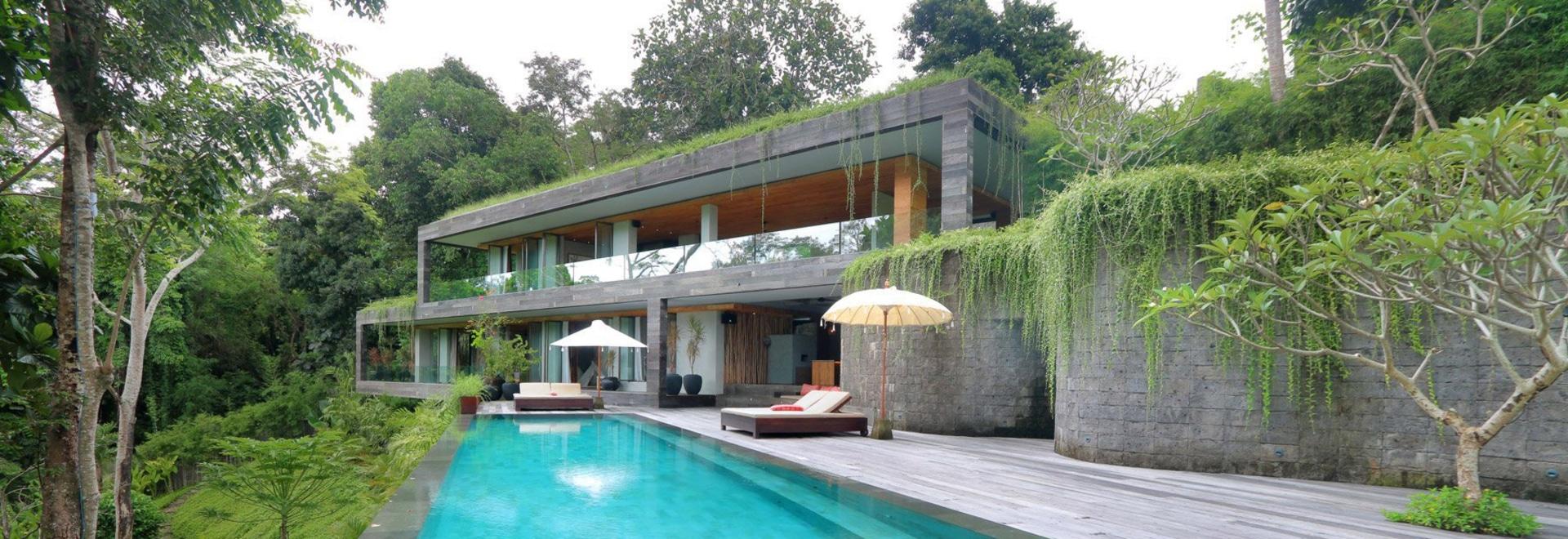 """La villa du caméléon de WOMhouse """"disparaît"""" dans ses environs de balinese"""