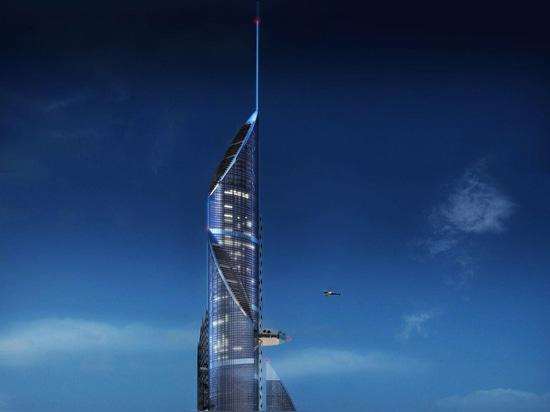 Le bâtiment le plus grand du monde a prévu pour la province de Bassora de l'Irak